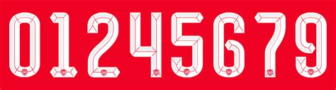 arsenal font arsenal 15 16 kit font revealed footy headlines