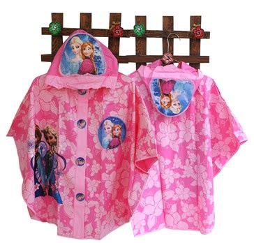 Jas Hujan Ponco Frozen Jas Terusan Frozen Jas Hujan Remaja Hk jas hujan ponco toko bunda