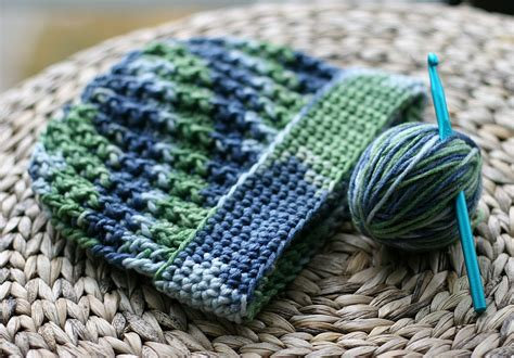pattern crochet ribbed hat easy ribbed crochet hat pattern