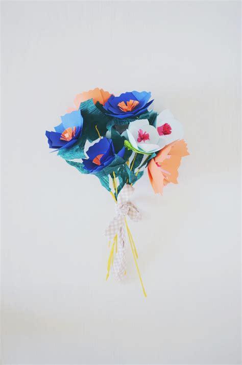 Paper Craft Flowers Bouquet - paperflower bouquet endshot