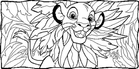 free printable coloring pages for lion king lion king simba coloring pages free printable for kids to