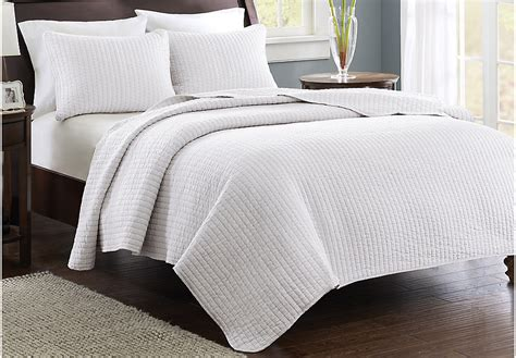King Coverlet Sets keaton white 3 pc king coverlet set king linens white