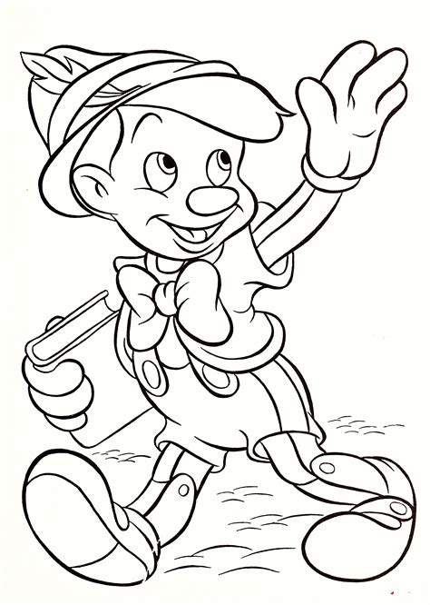 walt disney coloring pages pinocchio walt disney