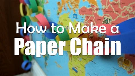 How Do You Make A Paper Chain - how do you make a paper chain 28 images how to build a