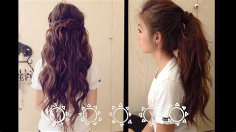 9 easy hairstyles for school back to school fast and easy hairstyles