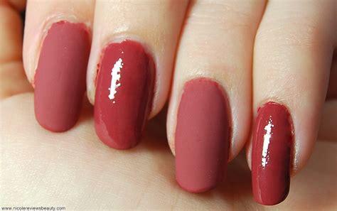 Revlon Nail Colour Teak reviews matte nails chanel beaute des ongles mat top coat velvet and revlon nail