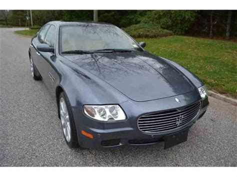 maserati quattroporte 2006 for sale classic maserati quattroporte for sale on classiccars com