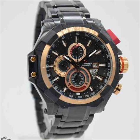 Chronoforce Black White Original jual jam tangan pria chronoforce 5209mbr black rosegold