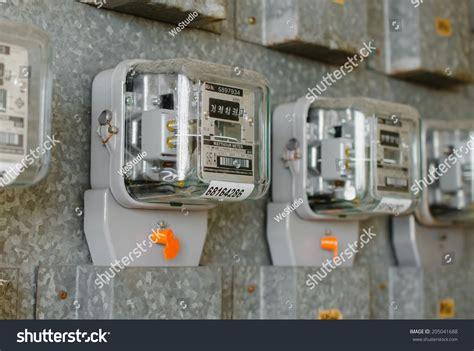 Apartment Building Electricity Meter Watt Hour Electric Meter Measurement Tool At Apartment