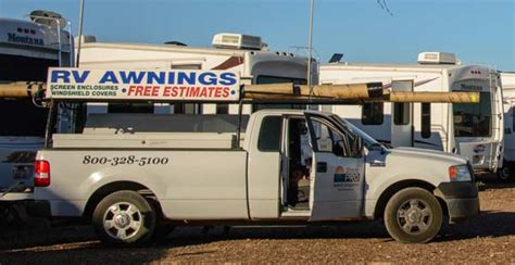 Mobile Awning Repair Quartzsite Arizona Rv Madness In The Desert