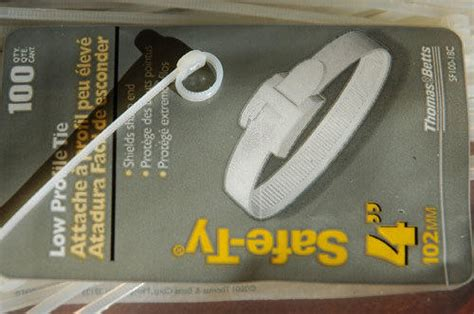 ace hardware zip ties myog guyline tensioners backpacking light