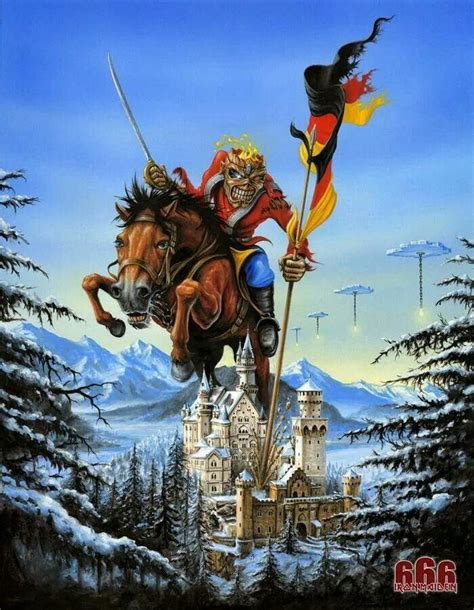 Plakat Iron Maiden by Iron Maiden German Tour Poster Derek Riggs Http