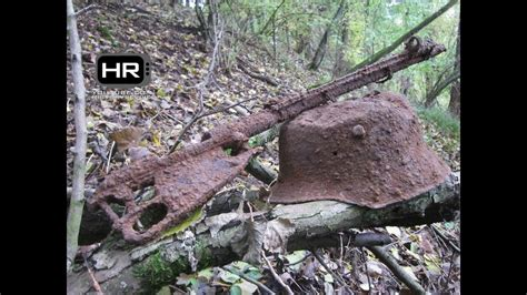 hidden treasures  wwii eastern front relic metal detecting episode  hd youtube
