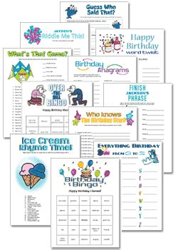 70s party games free printable games and activities for a 100th birthday party games free printable games and
