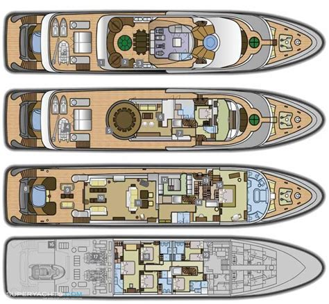 luxury yacht floor plans kinta yacht layout turquoise yachts motor