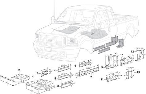 vehicle repair manual 1999 ford f350 spare parts catalogs steel cab repair panels 1999 15 ford f250 f350 f450 f550 super duty lmc truck