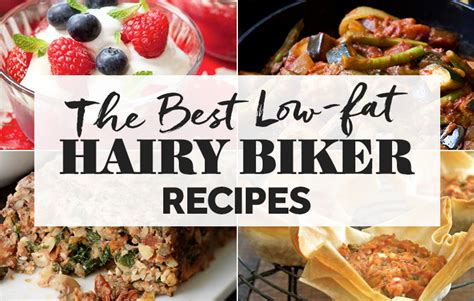 the best low fat hairy biker recipes vegetarian cooking