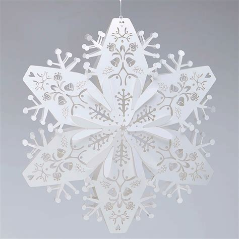28 best white snowflake decorations snowflake paper