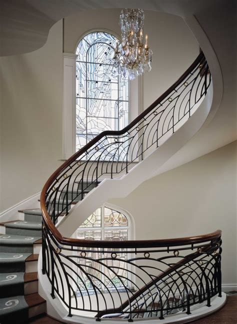 river oaks townhouse traditional staircase houston by ike kligerman barkley