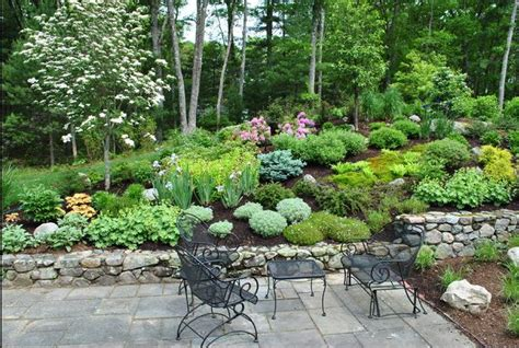landscaping a hilly backyard jll design tackling the yard