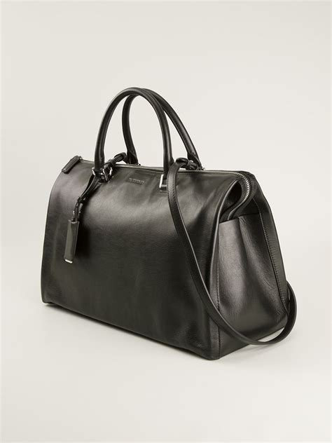 Jil Sander 2007 Bags by Lyst Jil Sander Doctors Style Tote Bag In Black