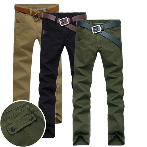 Joger Cargo Dc Biru Navy 33 38 s joggers army tactical cargo s casual trousers chinos mens khaki