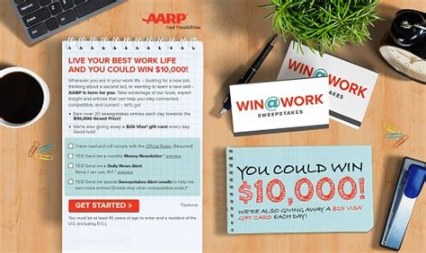 Current Events Sweepstakes - aarp contest win 10 000
