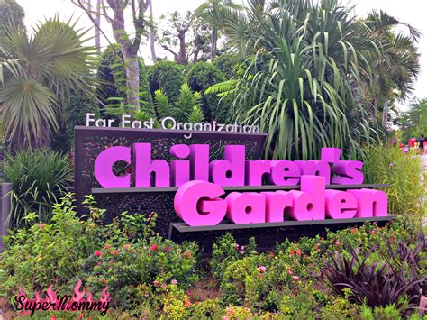 The S Garden tips for visiting the children s garden at gardens by the bay