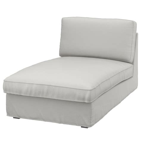 kivik chaise cover kivik cover for chaise longue ramna light grey ikea