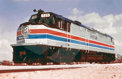 amtrak 1970 s sdp40f locomotive no 529 1970s amtrak history of