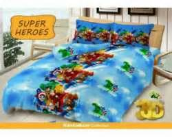 Seprai Kintakun Delux Single 120x200 grosir sprei kintakun deluxe supplier reseller dropship dan retail baju sprei bed cover