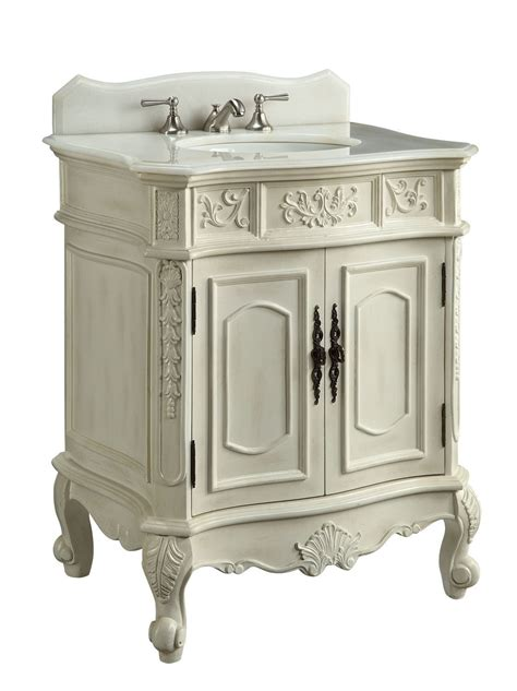 30 inch bathroom vanity with sink adelina 30 inch antique white single sink bathroom vanity