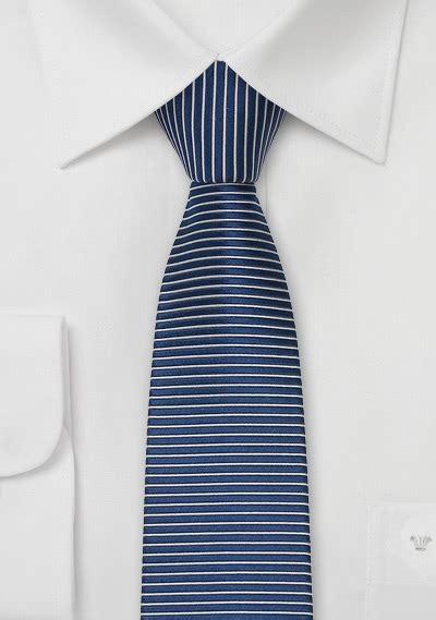 horizontal striped tie in indigo blue bows n ties