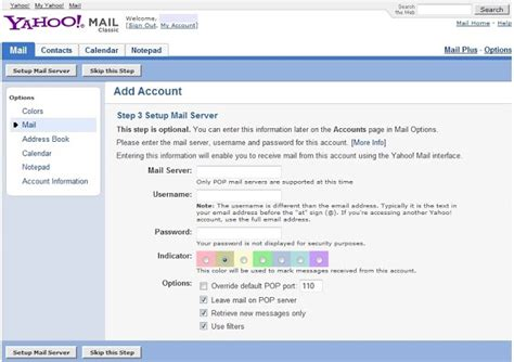 Tips From Yahoo Tech by Computer And It Technical Tips How To Setup Yahoo Mail