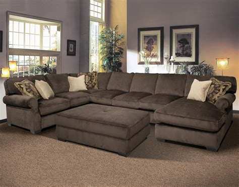 fabric chaise sectional with ottoman 20 collection of sectional with ottoman and chaise sofa