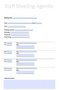 Staff Meeting Template by Search Results For Staff Meeting Agenda Template