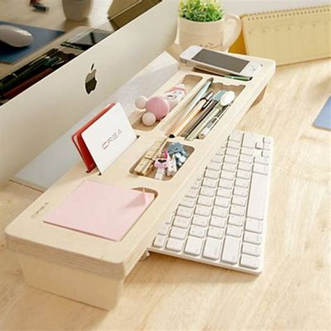 Office Desk Storage Ideas 20 Creative Home Office Organizing Ideas Hative