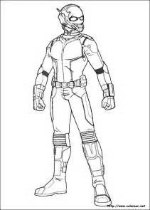 free coloring pages ant man print