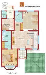 10 marla plot home design floor plan tricon village