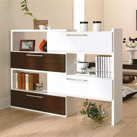 Room Divider With Shelves by 25 Room Dividers With Shelves Improving Open Interior Design And Maximizing Small Spaces