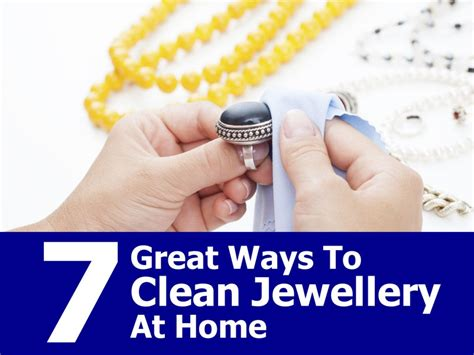 7 great ways to clean jewellery at home