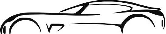 car outline 100224807 sportscar outline logo a car drawing isolated