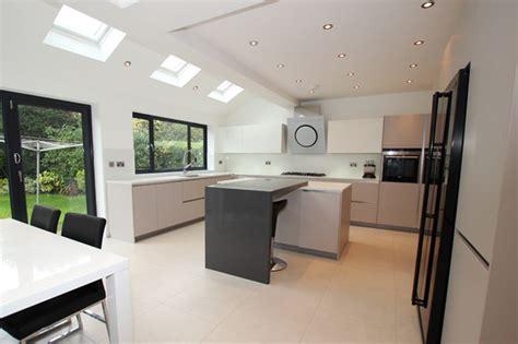 cashmere kitchen island modern kitchen london by