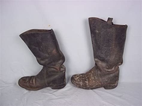 cavalry boots wwi german cavalry boots from theantiquesstorehouse on