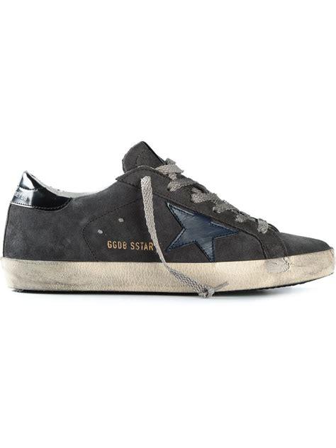 golden goose deluxe brand sneakers golden goose deluxe brand sstar suede sneakers in gray