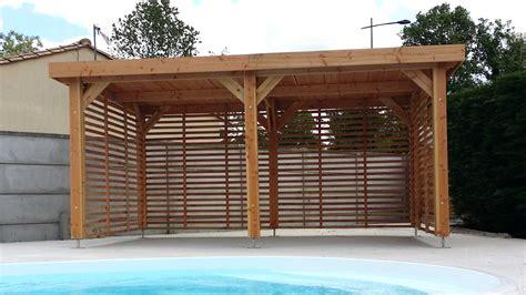 Extension Garage Bois by Extension Garage Bois Toit Plat Collection Et Extension En