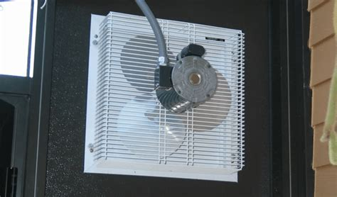 solar greenhouse fan with thermostat circulation fans greenhouse accessories solar