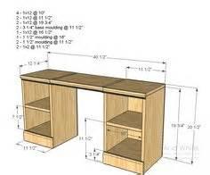 Custom Computer Desk Blueprints Desk Plans Custom Computer Desk And Custom Computers On