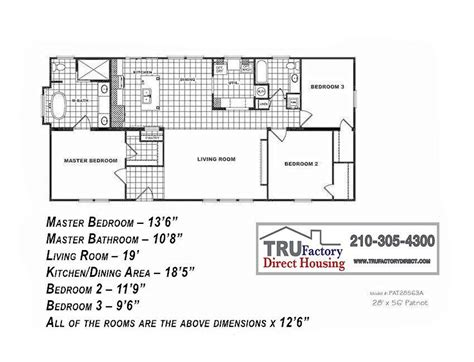 patriot homes floor plans 2001 patriot mobile home floor plans house design plans