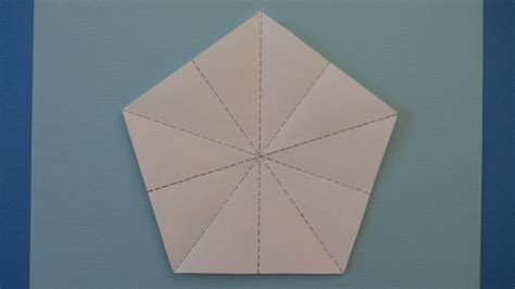 Origami Five Pointed - how to fold origami 5 pointed